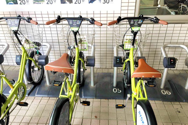 【12:45】金沢駅 レンタサイクル「まちのり」で移動。