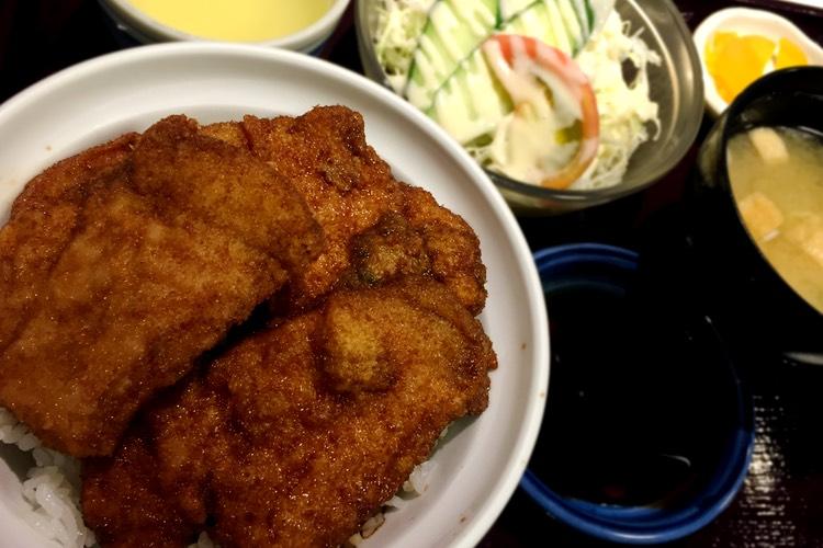【18:16】福井市 寄り道して、ソースカツ丼。