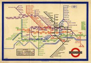 ハリー・ベック ロンドン地下鉄チューブマップ